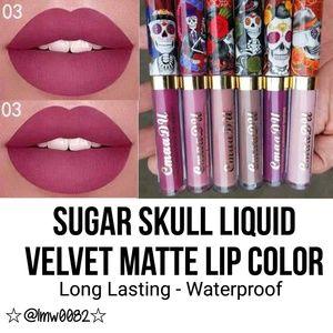 Sugar Skull Liquid Velvet Matte Lip Color FIRM $